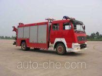 光通牌MX5130TXFJY88S型抢险救援消防车