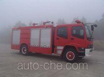 Guangtong (Haomiao) MX5160GXFAP60B class A foam fire engine