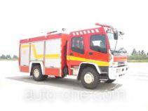 光通牌MX5160GXFPM50W型泡沫消防车