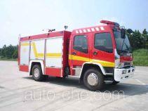 Guangtong (Haomiao) MX5160GXFSG50W fire tank truck