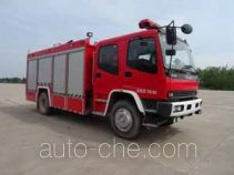 Guangtong (Haomiao) MX5160GXFSG60/QL fire tank truck