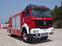 光通牌MX5160TXFPY42型排烟消防车