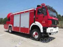 Guangtong (Haomiao) MX5160TXFPY42 smoke exhaust fire truck