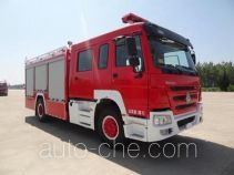 Guangtong (Haomiao) MX5180GXFPM50/HW foam fire engine