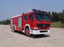 Guangtong (Haomiao) MX5190GXFSG70H fire tank truck