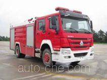 Guangtong (Haomiao) MX5190GXFSG80/HS fire tank truck