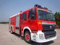 Guangtong (Haomiao) MX5190GXFSG80BJ fire tank truck