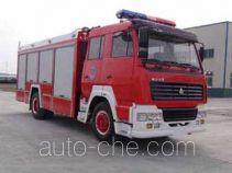 Guangtong (Haomiao) MX5190GXFSG80S fire tank truck