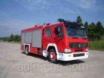 光通牌MX5190TXFGL60H型干粉水联用消防车