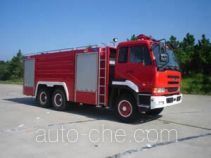 Guangtong (Haomiao) MX5220GXFGY100 liquid supply tank fire truck