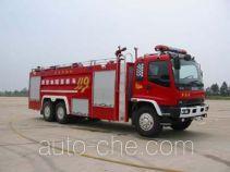Guangtong (Haomiao) MX5240GXFSG120 fire tank truck
