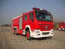 光通牌MX5280TXFGP100/HW型干粉泡沫联用消防车