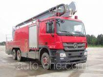 光通牌MX5330JXFJP25/SS型举高喷射消防车