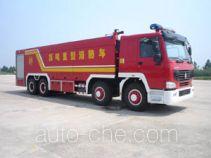 Guangtong (Haomiao) MX5430GXFSG250S fire tank truck