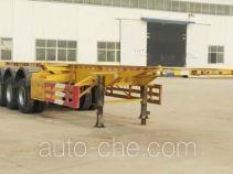 河海明珠牌MZC9400TJZ型集装箱运输半挂车