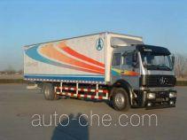 Beiben North Benz ND5160XXY02 box van truck