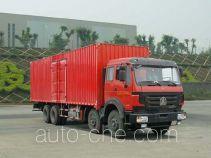 Beiben North Benz ND5240XXYZ02 box van truck
