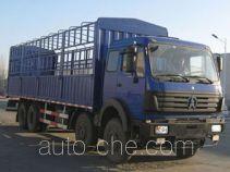 北奔牌ND5244CXYZ型仓栅式运输车