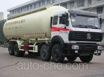 北奔牌ND53101GFLZ型低密度粉粒物料运输车