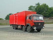Beiben North Benz ND5310XXYZ06 box van truck