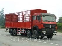 北奔牌ND5313CXYZ型仓栅式运输车