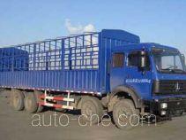北奔牌ND5314CXYZ型仓栅式运输车