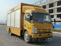 Naide Jiansong NDT5100TWJ sewage suction truck with solid and wet waste separation