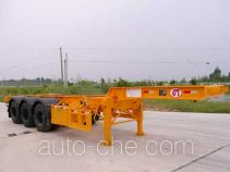 明威牌NHG9360TJZG型集装箱运输半挂车