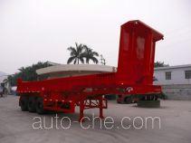 明威牌NHG9381ZZX型自卸半挂车