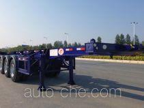明威牌NHG9405TJZG型集装箱运输半挂车