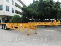 明威牌NHG9405TJZGA型集装箱运输半挂车