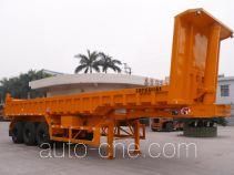 明威牌NHG9406ZZX型自卸半挂车