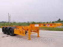 明威牌NHG9407TJZG型集装箱运输半挂车