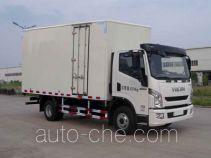 Yuejin cross-country box van truck