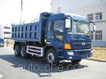 凌野牌NJ3250DBW2型自卸汽车