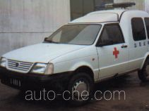 Yuejin NJ5020XXJ blood plasma transport medical car