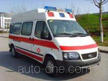 Medical treatment ambulance