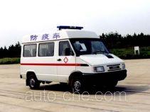 Iveco NJ5037XFY vaccination medical minibus