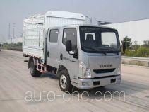 Yuejin NJ5041CCYZFDCNS грузовик с решетчатым тент-каркасом