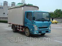 Yuejin NJ5041CPYZCDCMZ soft top box van truck