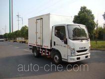 Yuejin NJ5042XXYZCDCNZ box van truck