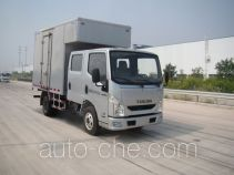 Yuejin NJ5041XXYZFDCNS box van truck