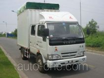 Yuejin NJ5041CPYDBCS5 soft top box van truck