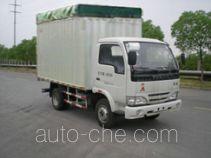 Yuejin NJ5041CPYDBCT5 soft top box van truck
