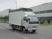 Yuejin NJ5041CPYDBFT5 soft top box van truck