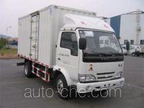 Yuejin NJ5041XXYDBFT6 box van truck