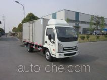 Yuejin NJ5041XXYDCCT1 box van truck