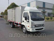Yuejin NJ5041XXYDCDT box van truck
