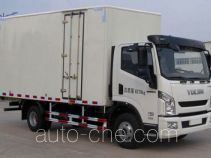 Yuejin NJ5041XXYZFDCWZ box van truck