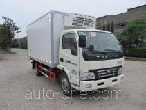 Yuejin NJ5042XLCDBFT4 refrigerated truck